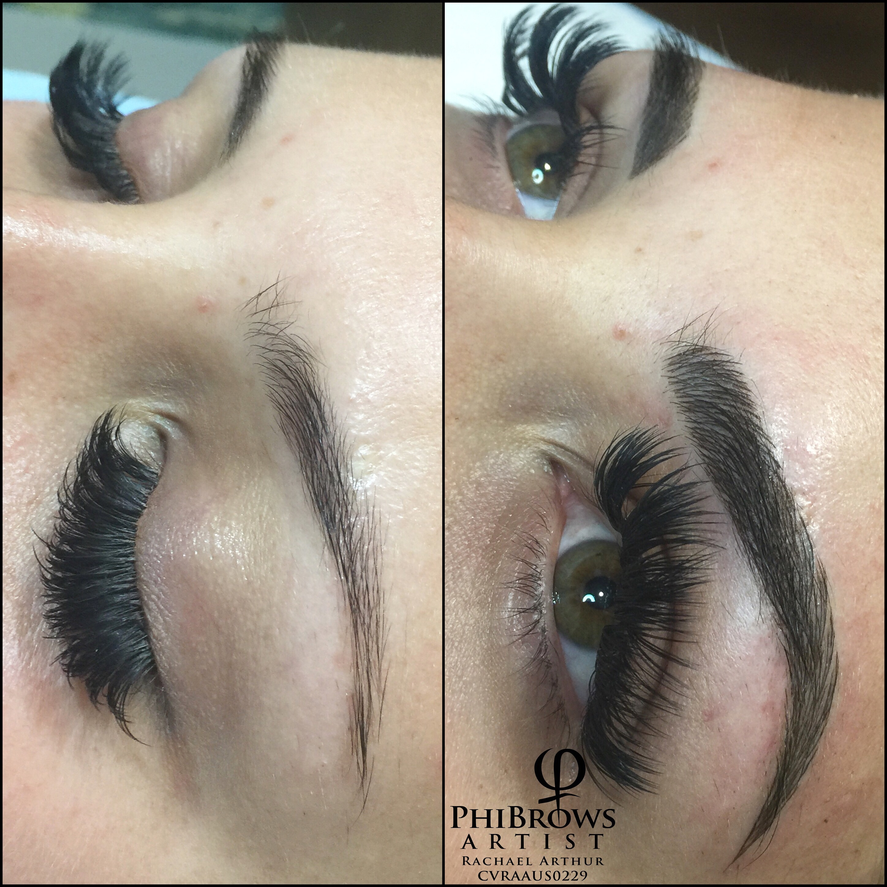 51a83eac37d We do not have a 'one style fits all' policy. Please see the photo's below  which show just some of the many different brows achieved with us.