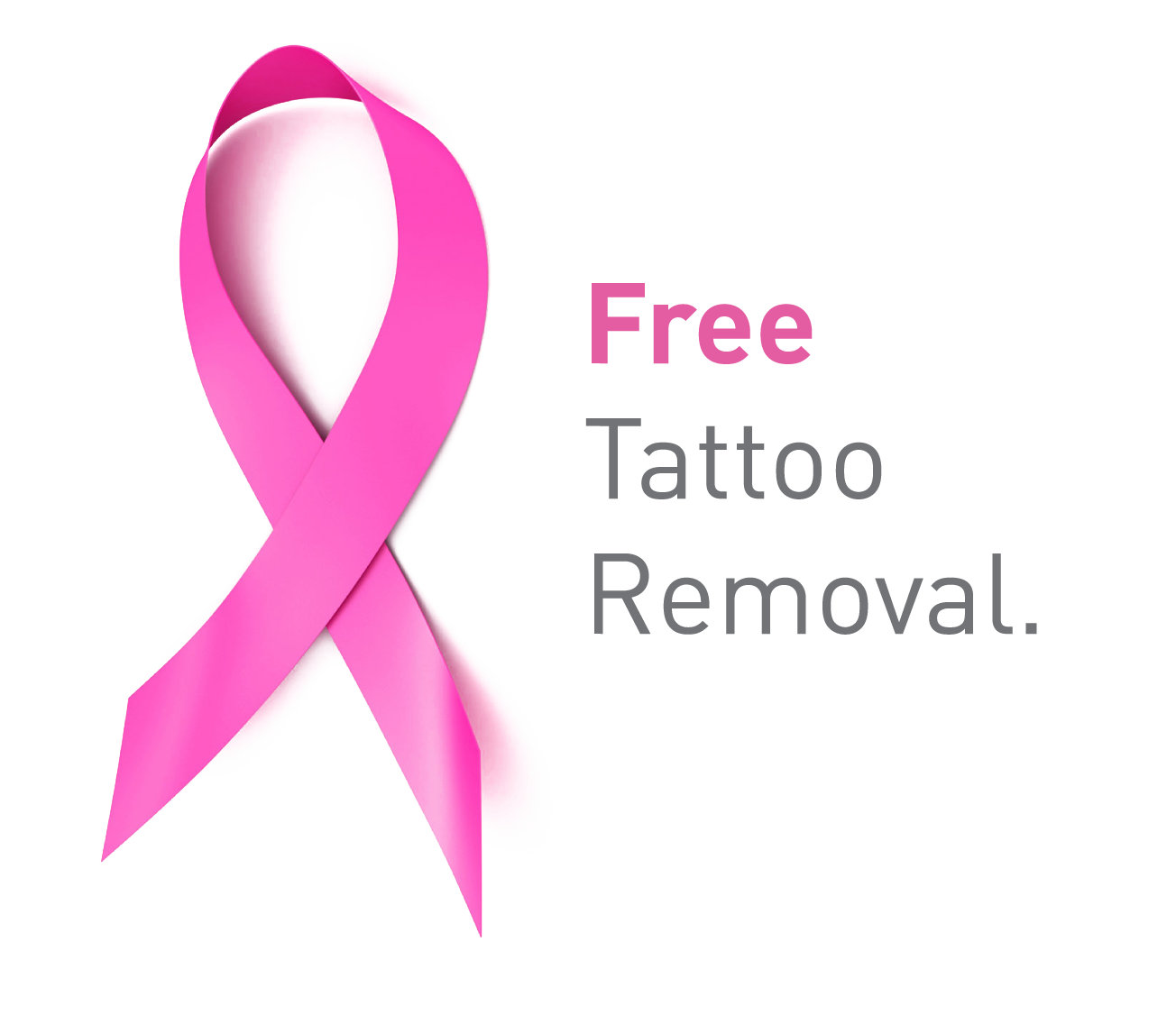 We offer complimentary removal of radiation tattoos for breast cancer ...
